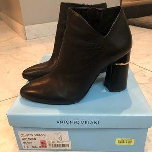 Antonio Melani Octavien Black Bootie